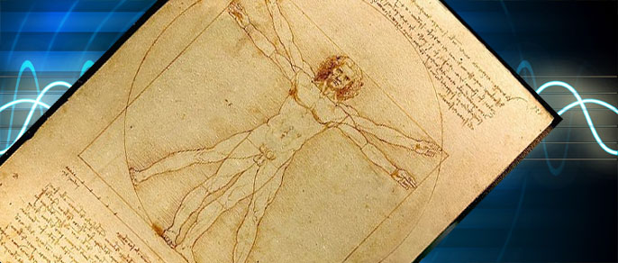 The Vitruvian Man (Leonardo da Vinci)